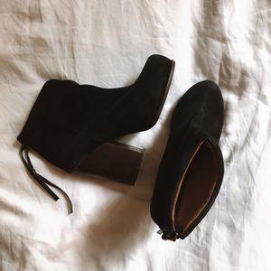 Jeffery Campbell black booties